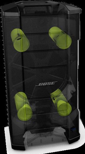 4 évents Présentation Bose F1 Modèle 812 Control Sound