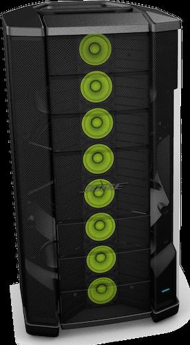 8 Haut Parleurs Presentation Bose F1 Modele-812 Control Sound