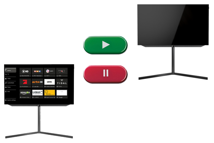 Multi recording : Enregistrez facilement Loewe Bild 7.55 UHD controlsound