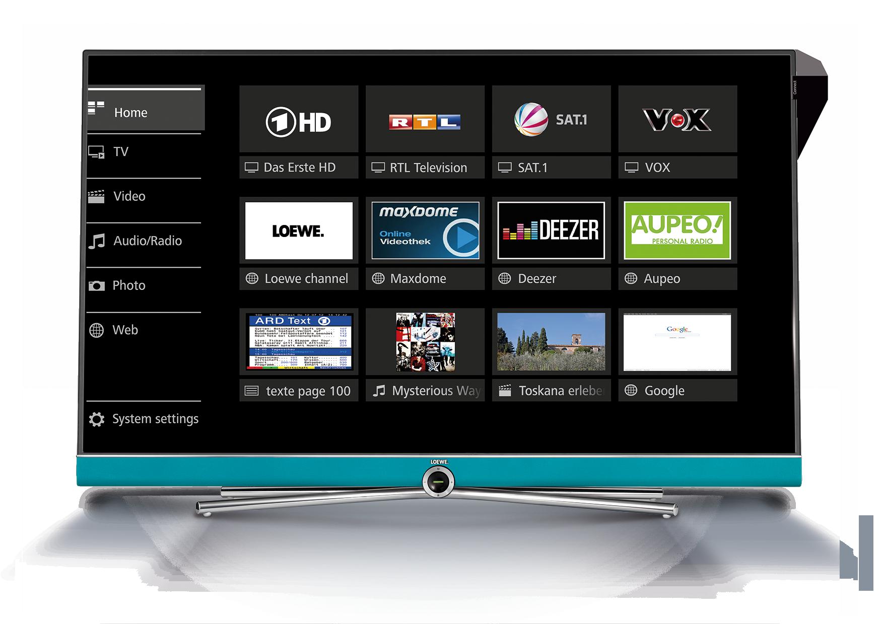 Loewe assist media - Loewe Connect 40 DR+ UHDcontrolsound