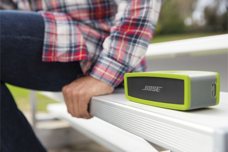 Bose-Sound-Link-mini-II-Exterieur-Vert-contol-sound
