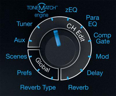 Réglages Tonematch avec L1S ControlSound Division professionnelle