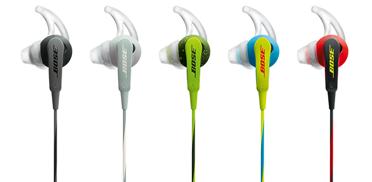Choix du coloris Écouteurs intra-auriculaires Bose® SoundSportTM ControlSound