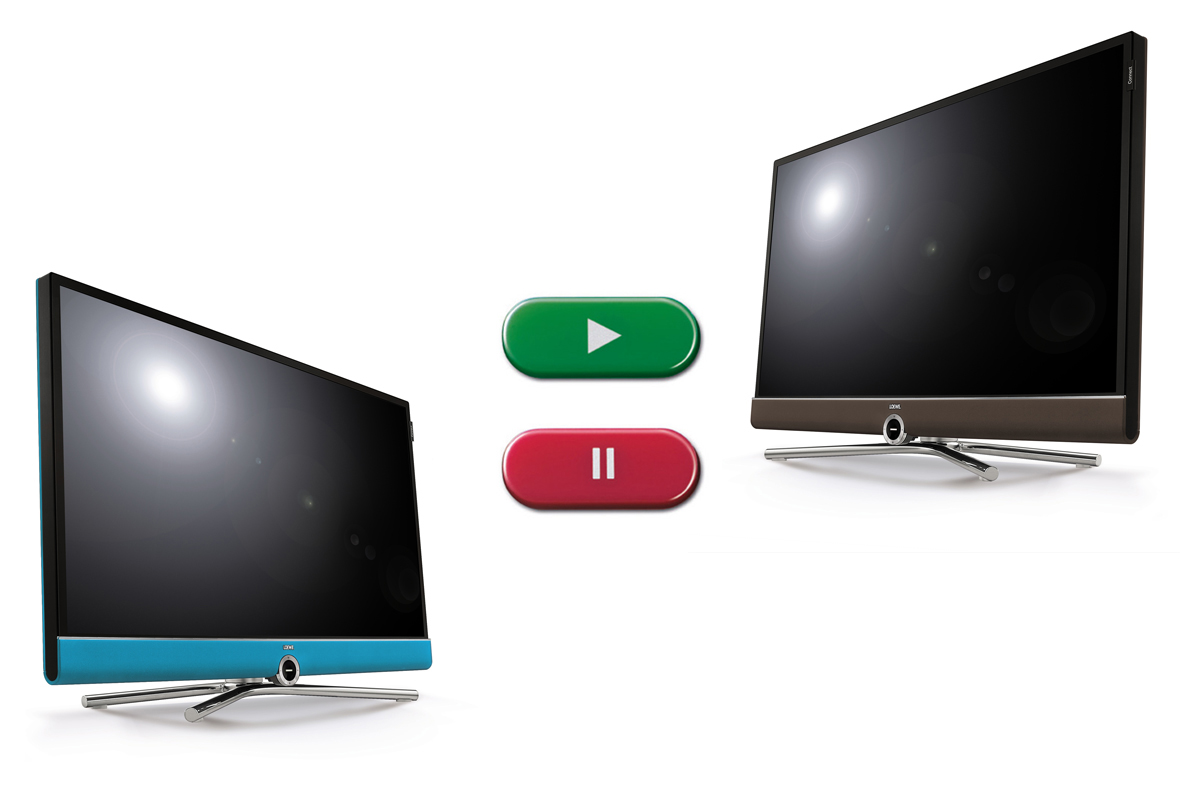 Multi recording : Enregistrez facilement Loewe Connect 48 DR+ UHD controlsound