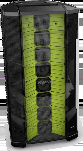 Huit haut-parleurs Enceinte Flexible Array Bose F1 Modele 812 Control Sound
