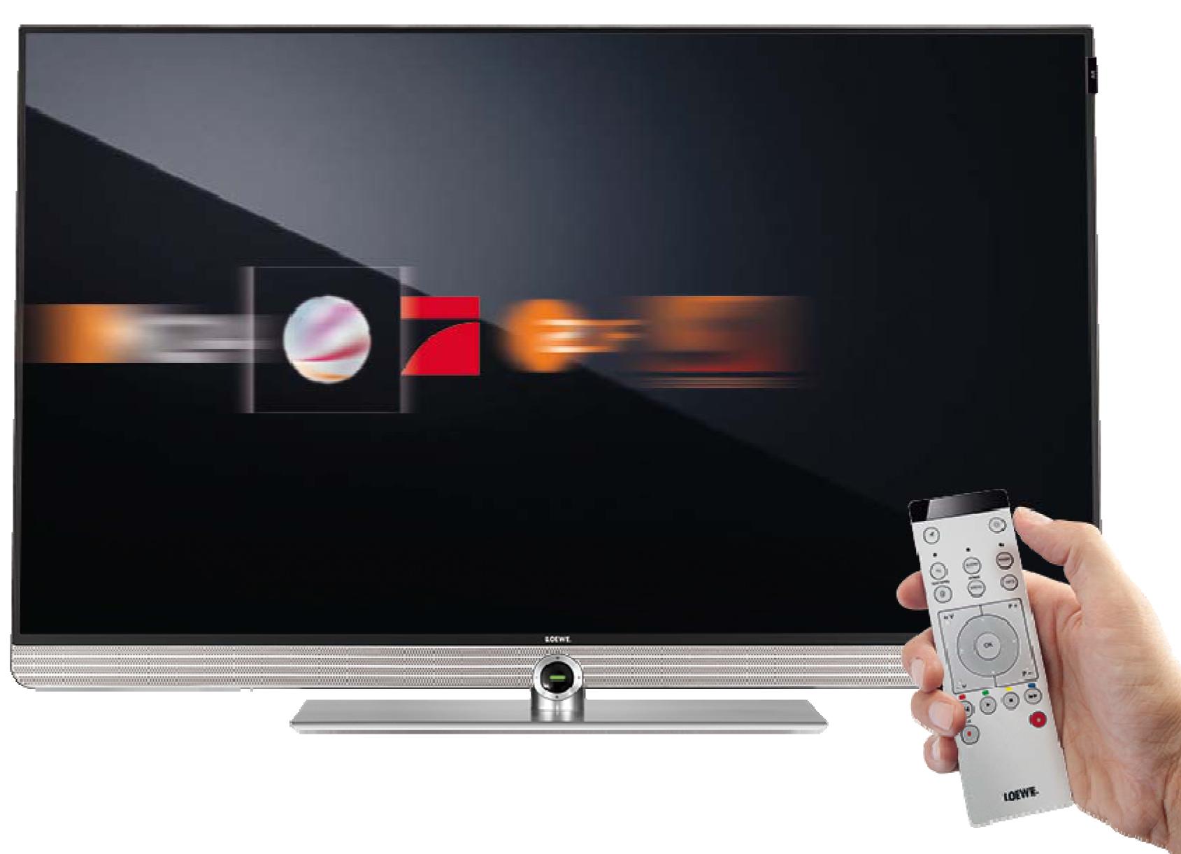 Loewe instant Channel Changement rapide des chaînes. Loewe Art 48 UHD controlsound