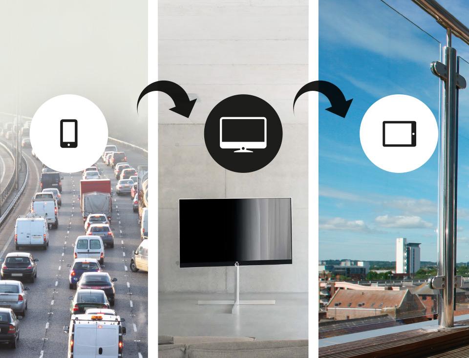 Enregistrer vos émissions favorites simplement via Lewe mobile recording - Loewe Reference 75 UHD controlsound