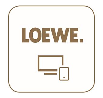 LOEWE  Smart tv2move- Loewe Reference 55 UHD controlsound