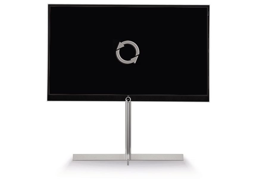 Mise à jour télévision Loewe Reference 55 UHD controlsound