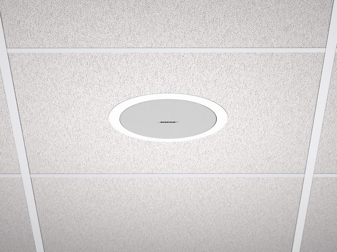 Deux coloris Noir et Blanc DS 16S ControlSound Division professionnelle