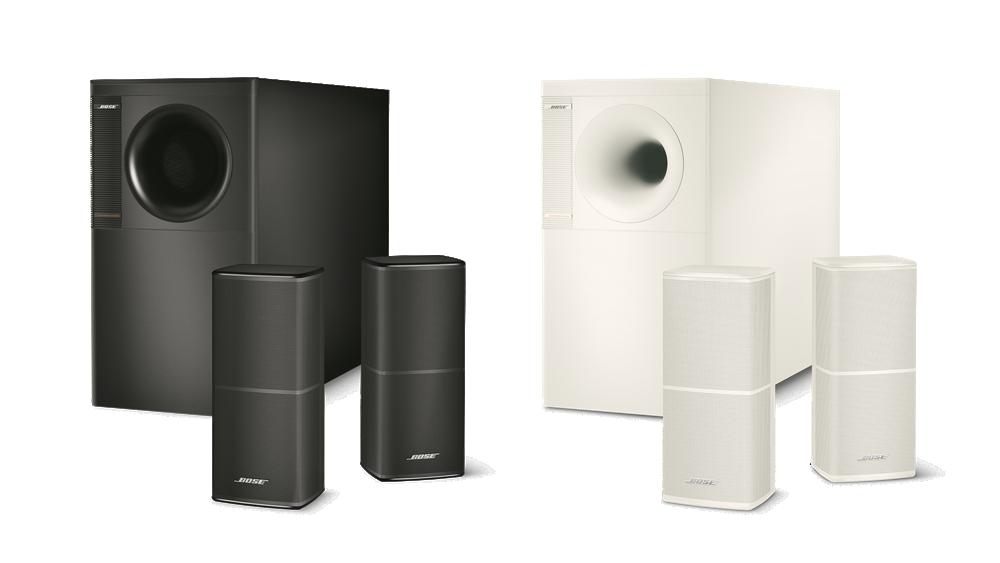 Système Acoustimass 5 série V Noir et Blanc ControlSound