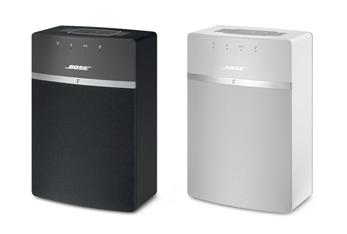 Présentation du modèle noir et blanc du Système Audio Wi-Fi Bose SoundTouch 10 Control Sound