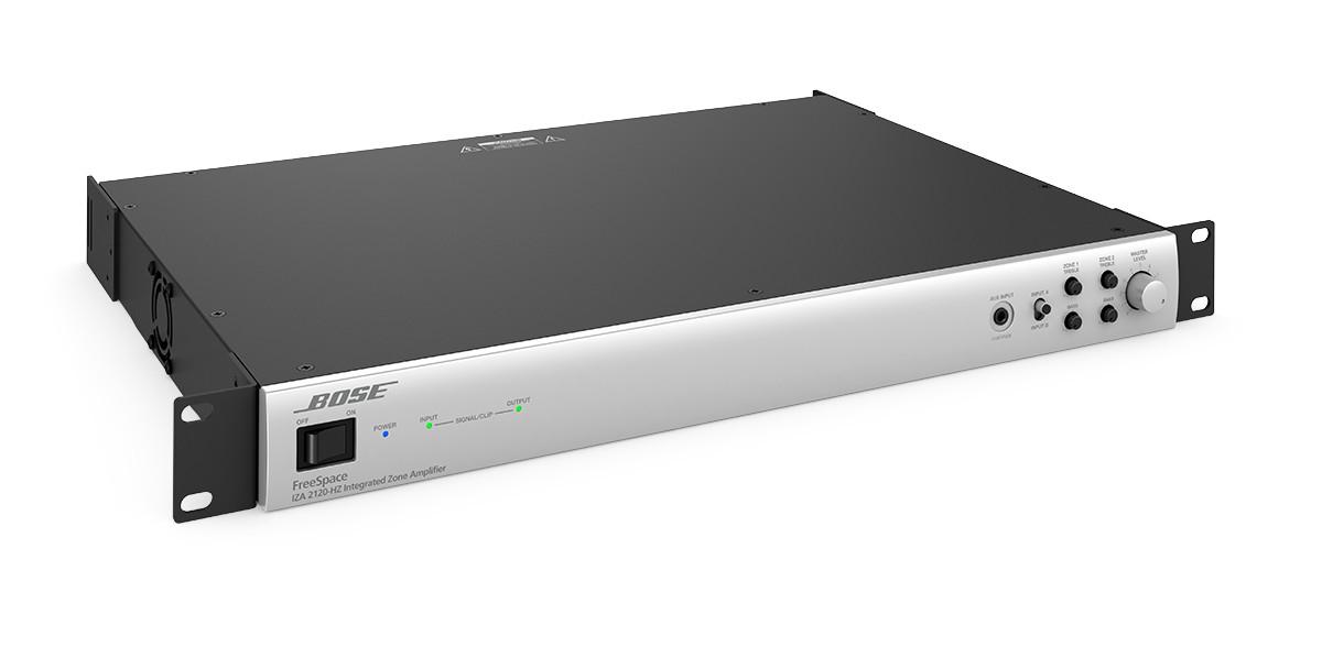 Présentation de l'amplificateur Bose FreeSpace IZA 2120 HZ ControlSound Division professionnelle