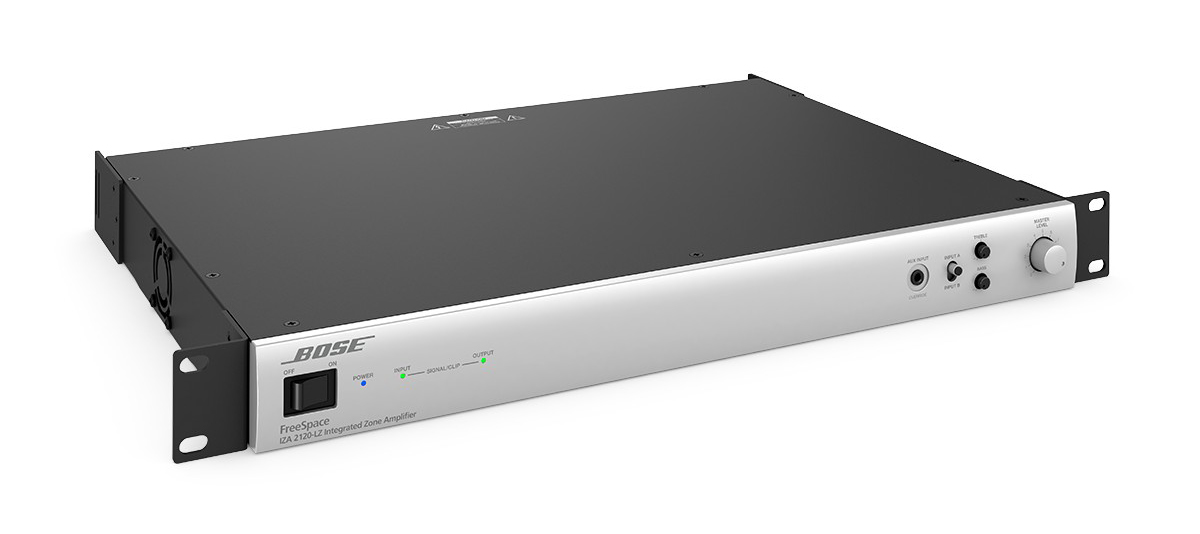 Présentation de l'amplificateur Bose FreeSpace IZA 2120 LZ ControlSound Division professionnelle