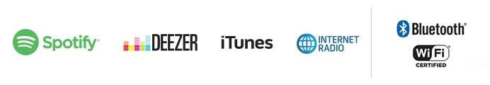 Explorer votre musique avec le système SoundTouch avec le système audio Wi-Fi Bose SoundTouch 10, écouter vos servies musicaux tels que spotify, deezer, itunes, radios internet et vos bibliothèques.