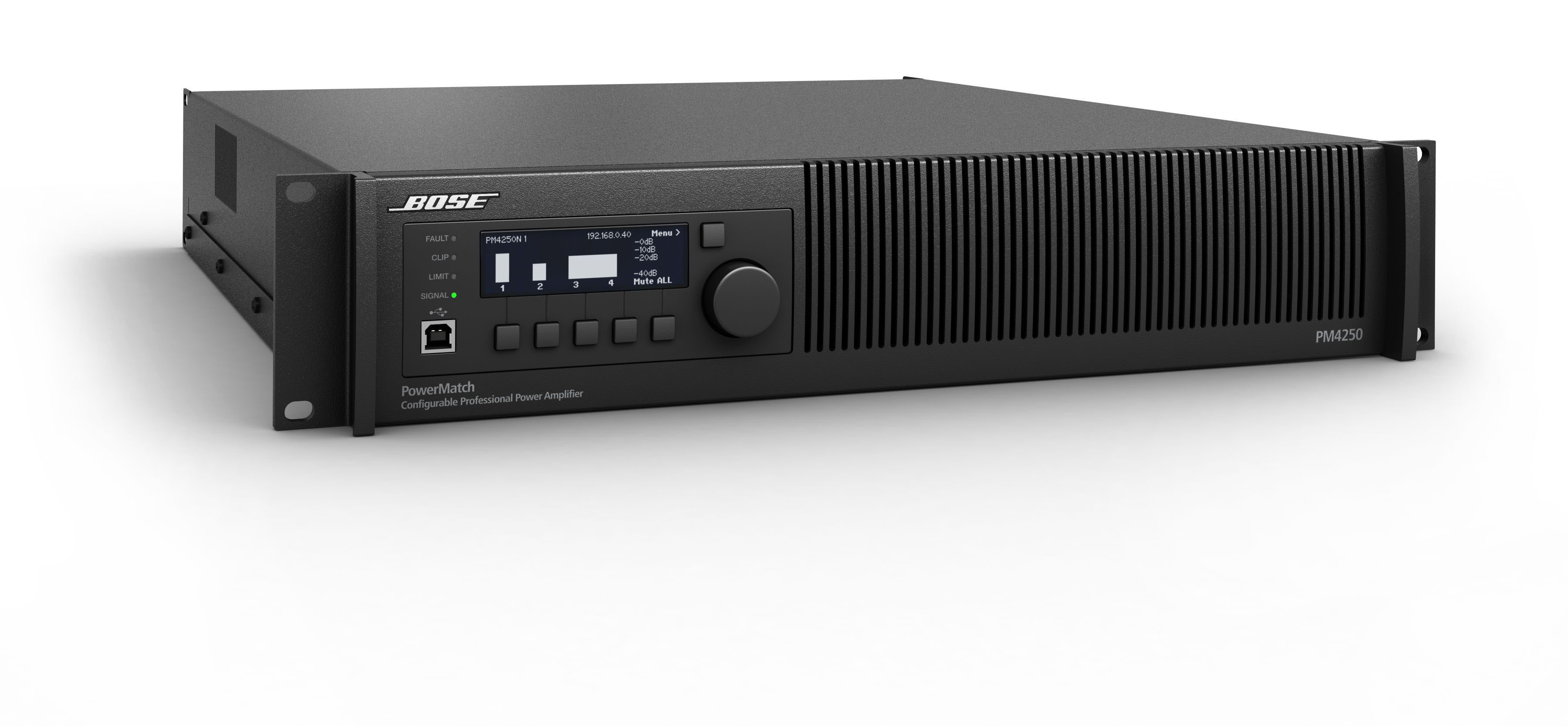 Présentation de l'amplificateur Bose PowerMatch PM4250N ControlSound Division professionnelle