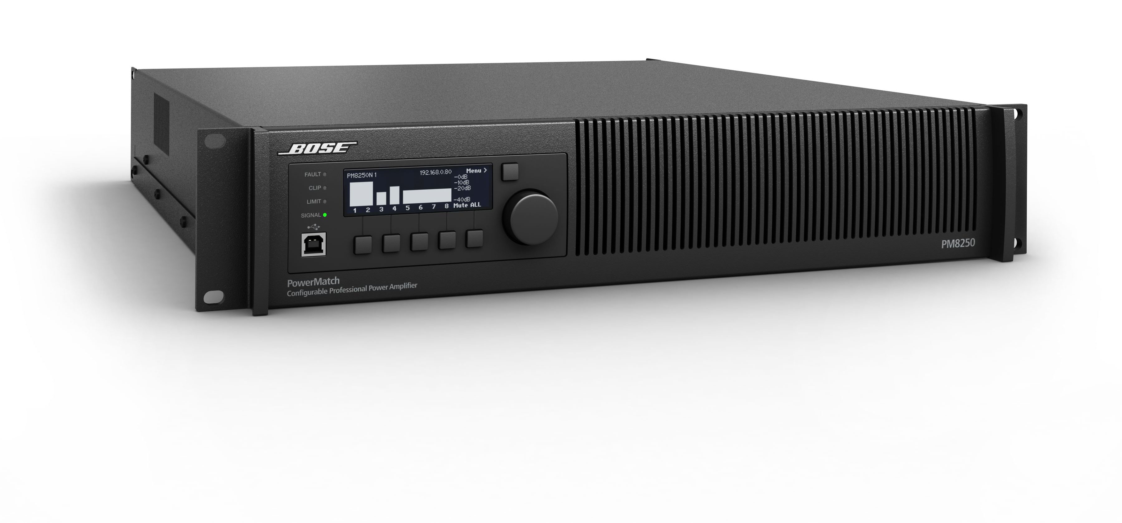 Présentation de l'amplificateur Bose PowerMatch PM8250N ControlSound Division professionnelle