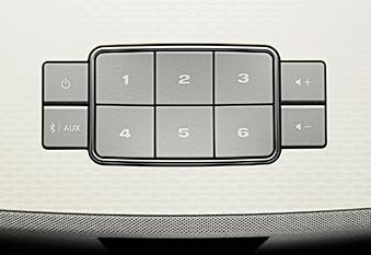 Jusqu'à 6 préreglages personnalisés du Système Audio Wi Fi Bose SoundTouch 20 série 3 Control Sound