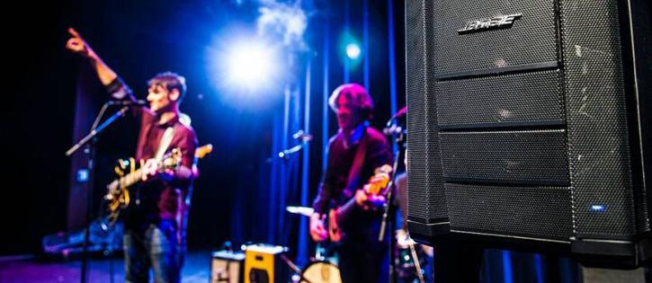 Sur scène Enceinte Flexible Array Bose F1 Control Sound