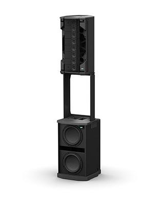 Système Caison De Basse Plus Enceinte Flexible Array Bose F1 Modele 812 Control Sound