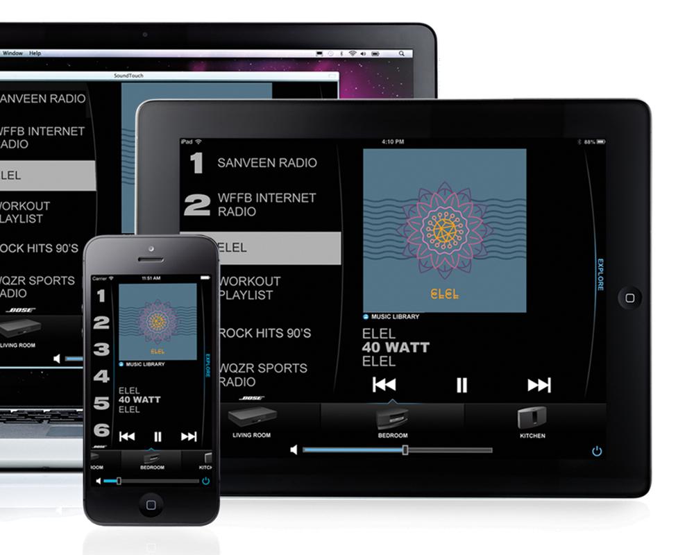 Profiter De Votre Musique Partout Dans Votre Maison Avec La Technologie Soundouch Système home cinéma - Lifestyle 650 ControlSound