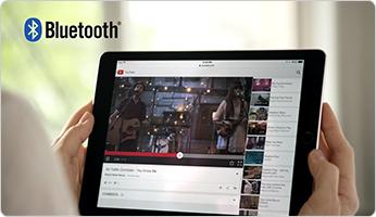 Utiliser votre tablette en bluetooth avec la technologie SoundTouch pour éccouter votre musique favorite avec Système Audio Wi-Fi Bose SoundTouch 20 série III Control Sound