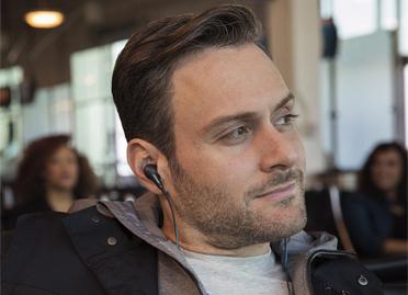 un son envoûtant QC 20 — Écouteurs à réduction de bruit Bose ® QuietComfort ® 20