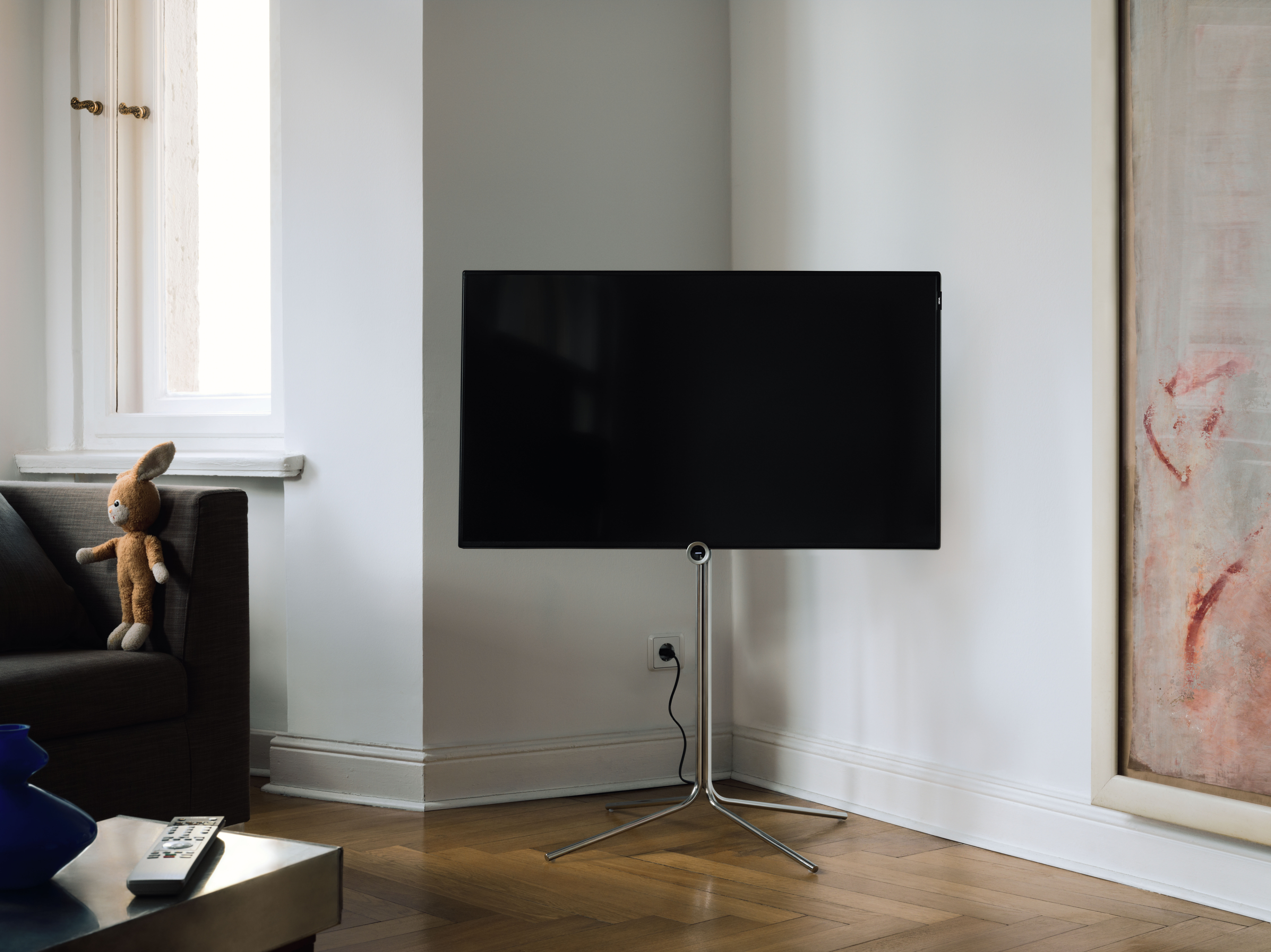 Une image excellente Loewe one 55 UHD controlsound