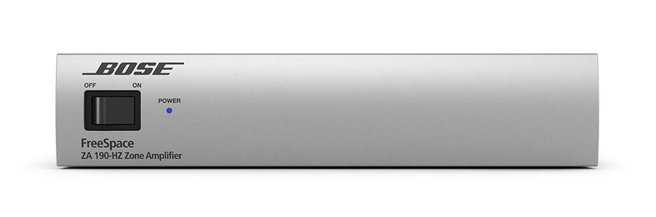 Présentation de l'amplificateur Bose FreeSpace IZA 190 HZ ControlSound Division professionnelle