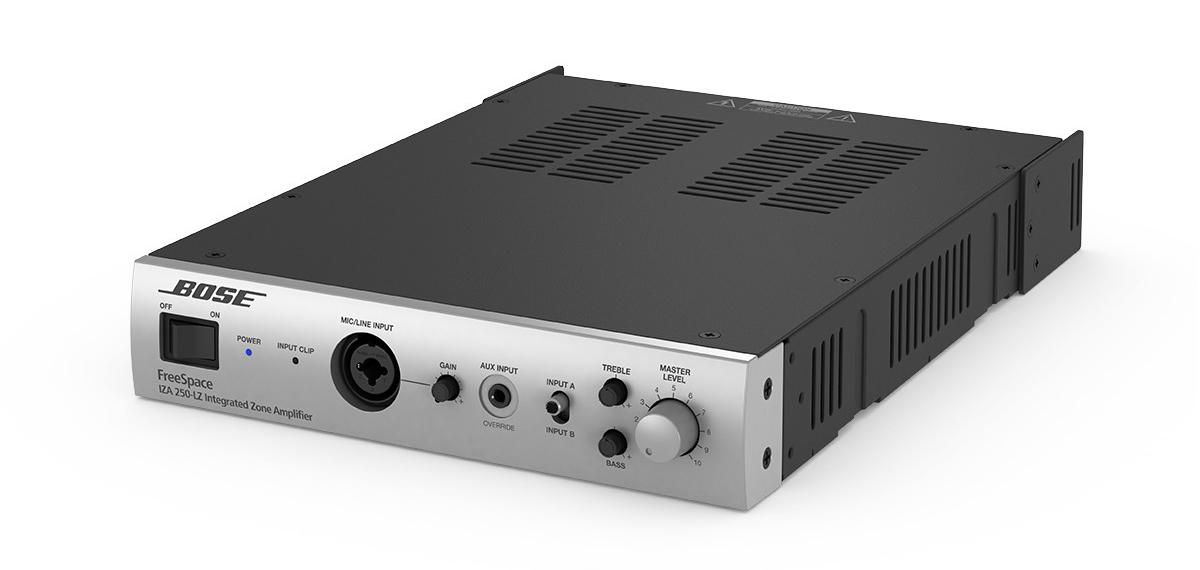 Présentation de l'amplificateur Bose FreeSpace IZA 250 LZ ControlSound Division professionnelle