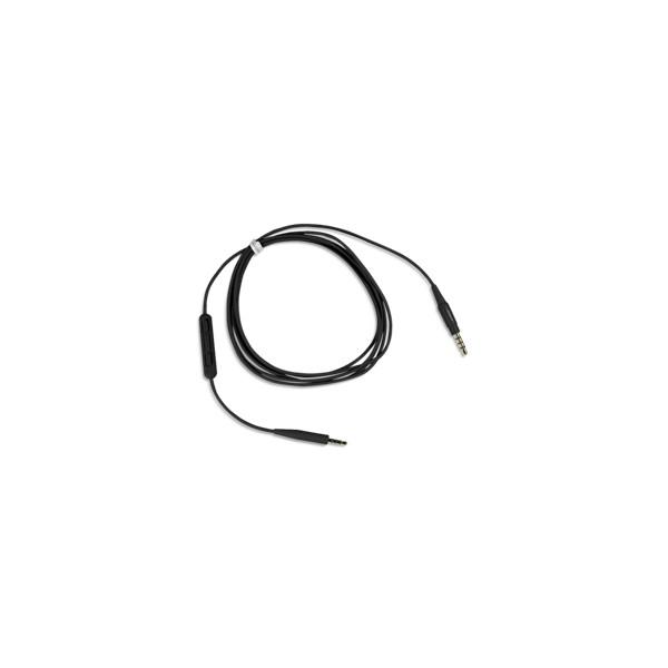 Câble avec microphone et télécommande intégrés pour casque SoundTrue®
